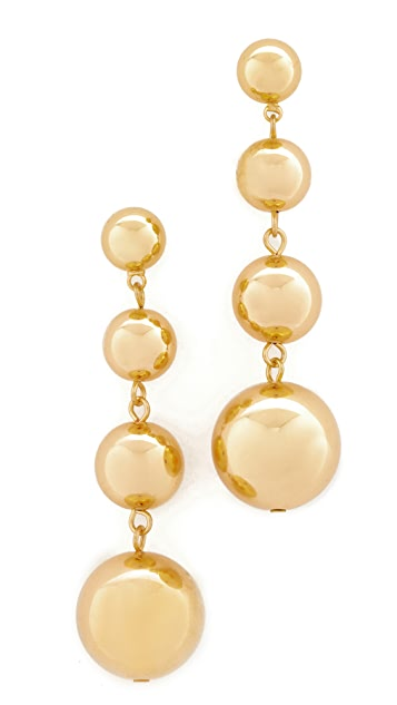 Shashi Ball Drop Earrings