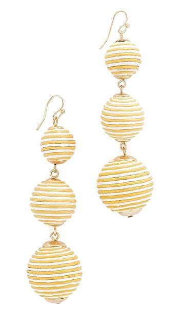 Shashi Marie Striped Earrings