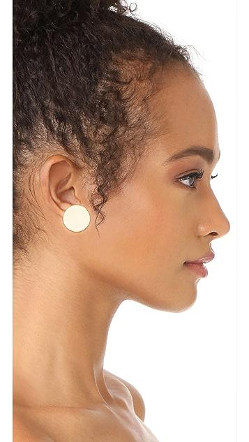 Shashi Disc Earrings