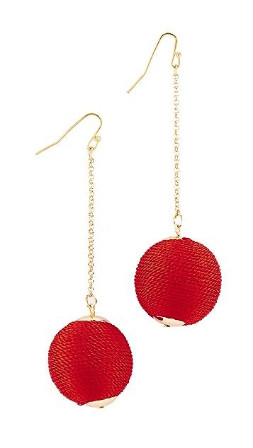 Shashi Silk Matilda Chain Drop Earrings