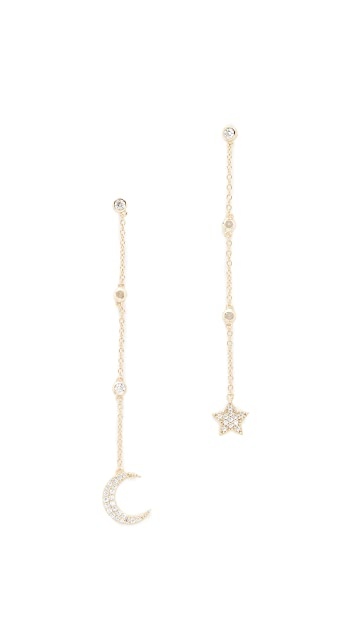 Shashi Luna Drop Earrings