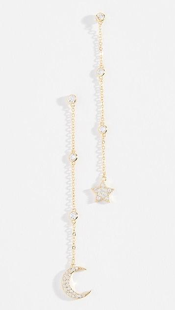 Shashi Luna Drop Earrings