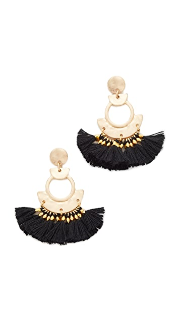 Shashi April Tassel Earrings