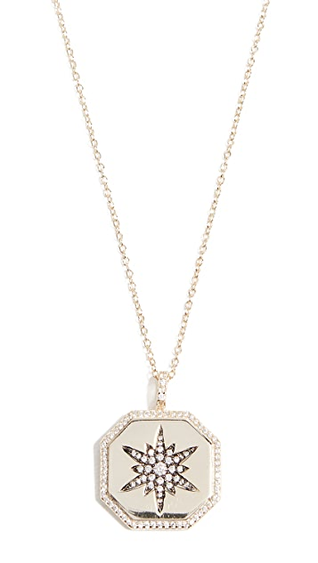 Shashi Octagon Starburst Necklace