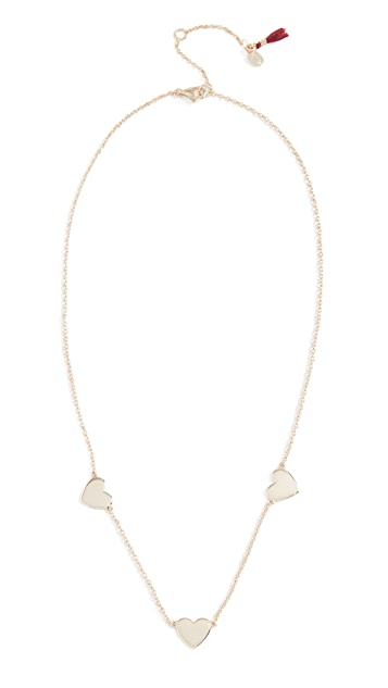 Shashi Multi Heart Necklace