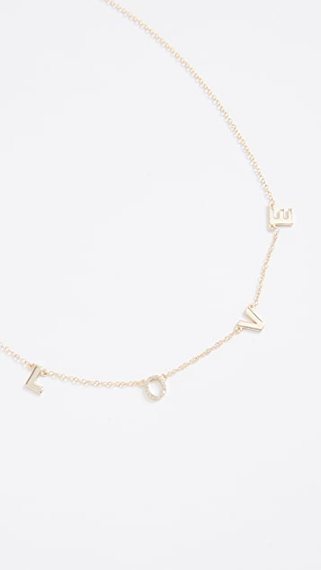 Shashi Love Necklace