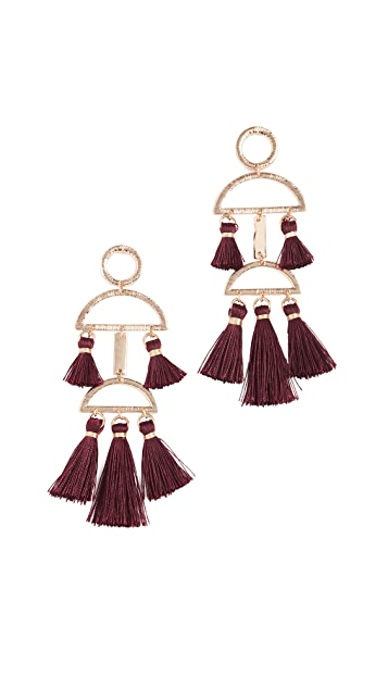 Shashi Alicia Tassel Earrings