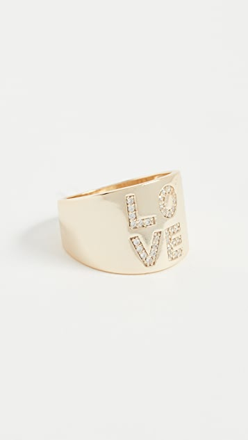 Shashi Bold Love Ring