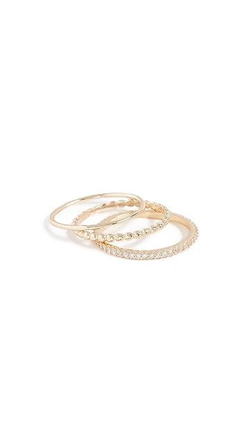 Shashi Aurora Ring Set