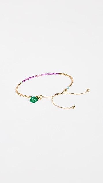 Shashi Sam Chain Slide Bracelet