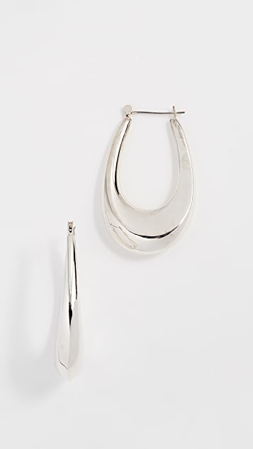 Shashi Sandra Hoop Earrings
