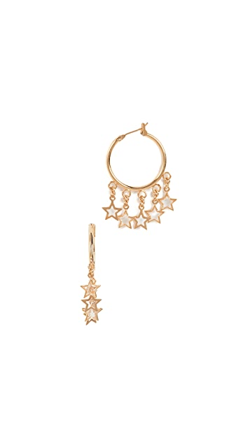 Shashi Vega Hoop Earrings