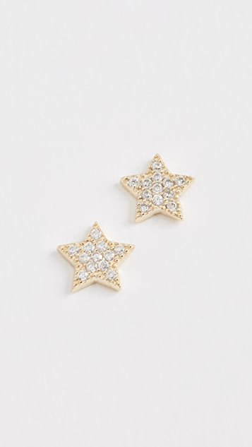 Shashi Star Stud Earrings