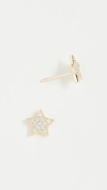Shashi Star Stud Earrings