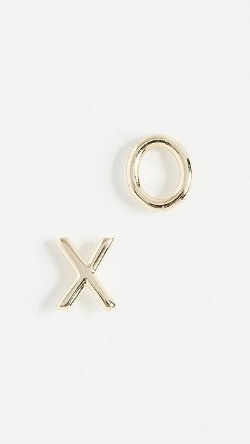 Shashi XO Stud Earrings