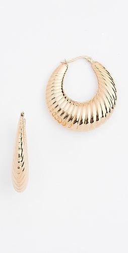 SHASHI - Sadie Hoop Earrings