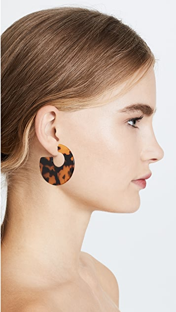 Shashi Katy Hoop Earrings