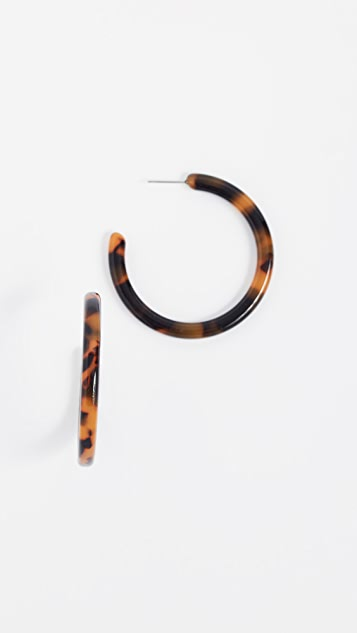 Shashi Leah Hoop Earrings