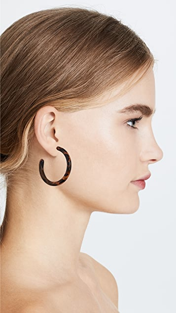 Shashi Leah Hoop Earrings