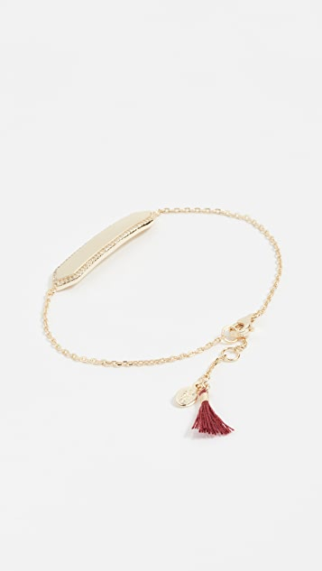 Shashi Mariah Pave Bracelet
