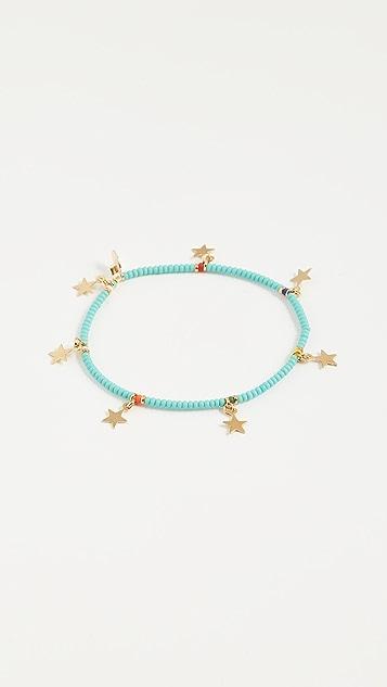 Shashi Star Lilu Bracelet - Turquoise