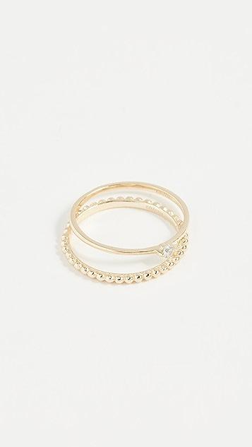 Shashi Winter Ring Set