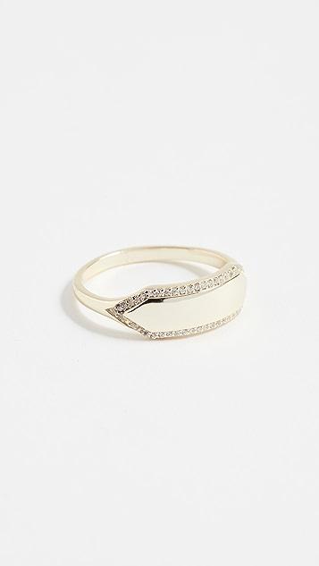 Shashi Mariah Pave Ring