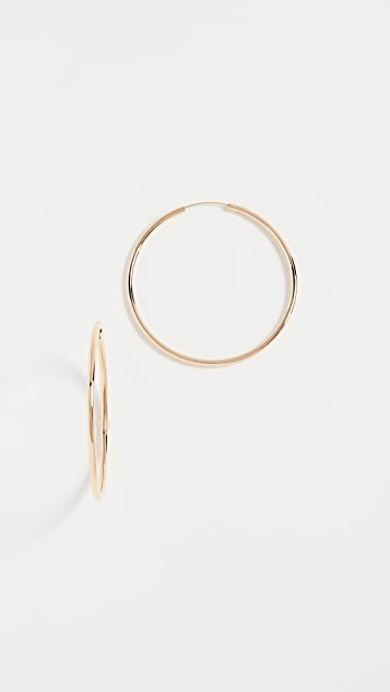 Shashi Samantha Small Hoop Earrings