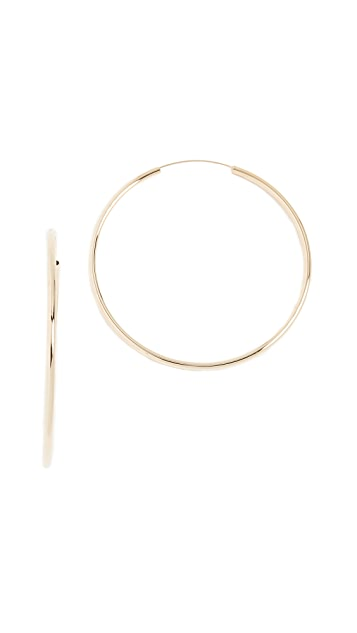 Shashi Samantha Large Hoop Earrings