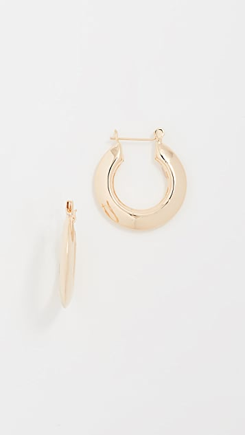 Shashi Gianna Small Hoop Earrings