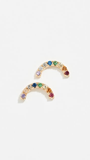 059907ee8 Shashi Rainbow Stud Earrings | SHOPBOP