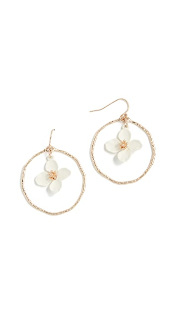 Shashi Irene Hoop Earrings