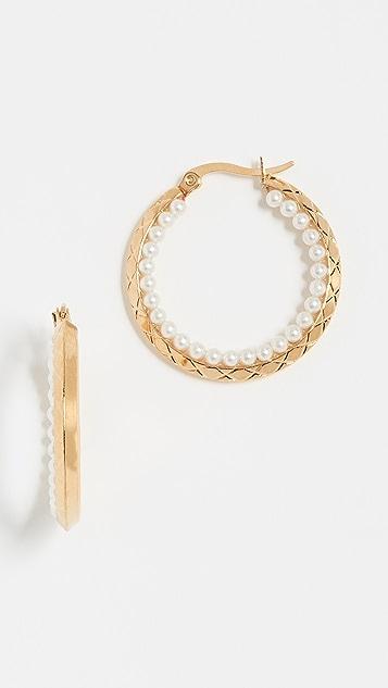 Shashi Jane Hoop Earrings