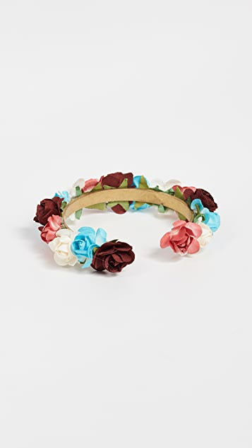 Shashi Ivy Cuff Bracelet