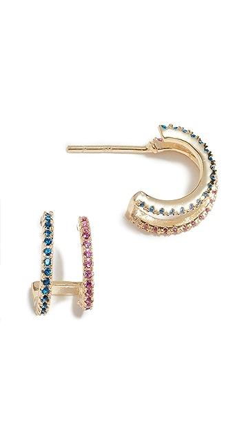 Shashi Jamie Hoop Earrings