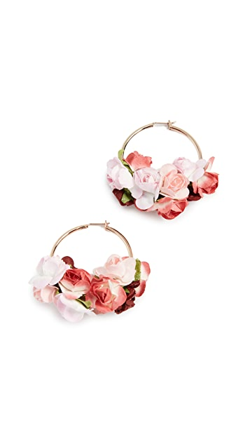 Shashi Ivy Hoop Earrings