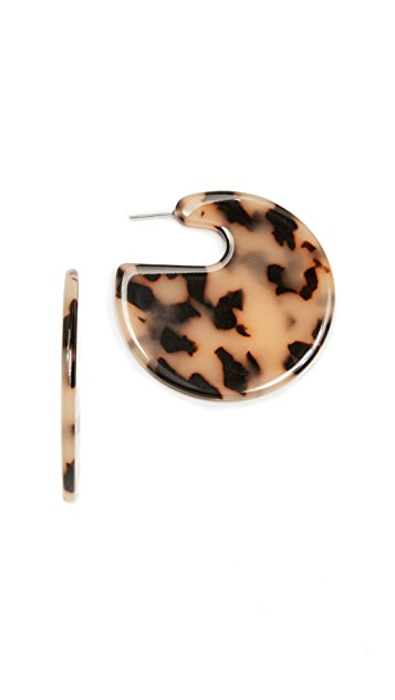 Shashi Mallory Hoop Earrings