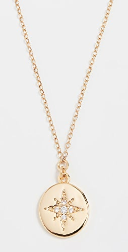 SHASHI - Starburst Coin Pendant Necklace