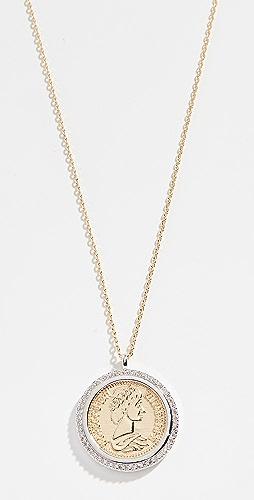 SHASHI - Pendant Coin Necklace