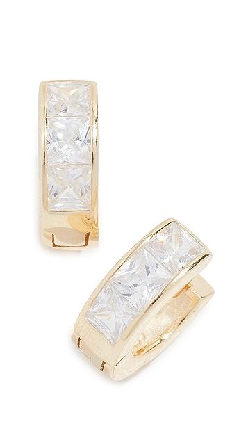 Shashi Emma Huggie Earrings