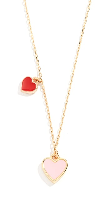 Shashi Enamel Heart Multi Necklace