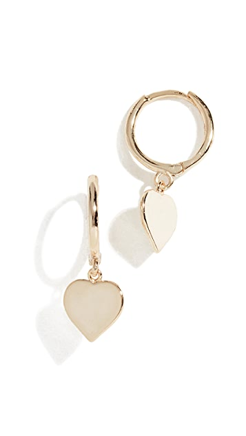 Shashi Candice Huggie Earrings