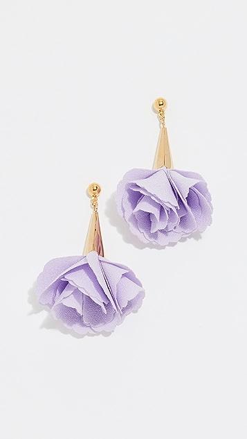 Shashi Rose Drop Earrings