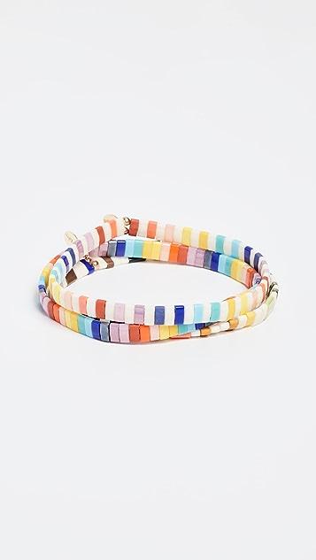 Shashi Tilu 3 Stack Bracelet Set