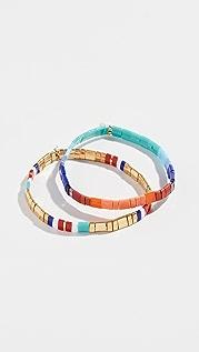 SHASHI Tilu Set of 2 Bracelets