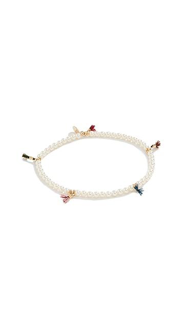 Shashi Lilu Crystal Pearl Bracelet