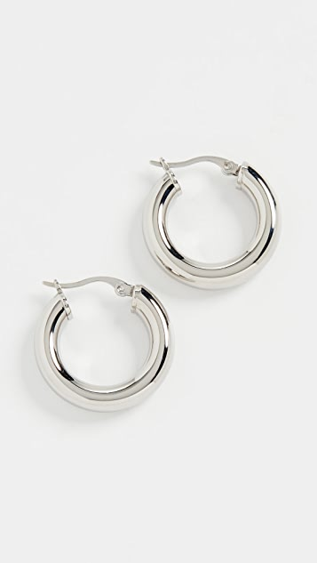 Shashi Dominique Hoop Earrings