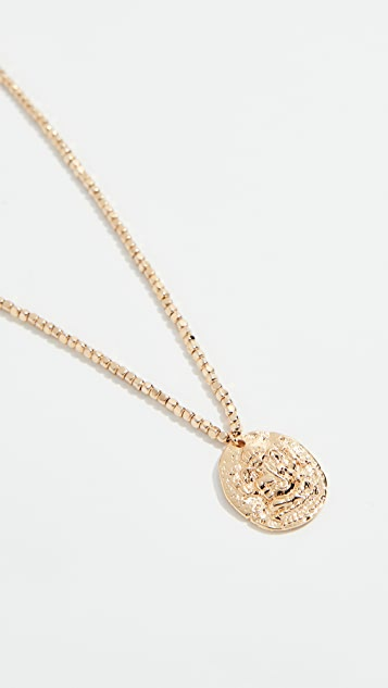 Shashi Nugget Coin Necklace