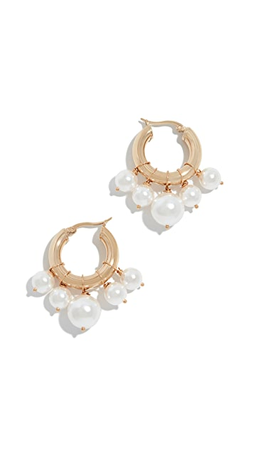 Shashi Lolita Huggie Earrings