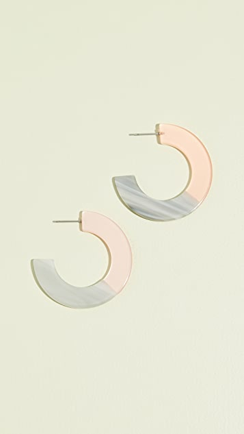 Shashi Peyton Hoop Earrings